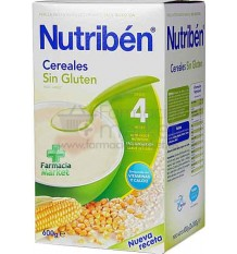 Nutriben Cereales Papilla Sin Gluten 600 gramos
