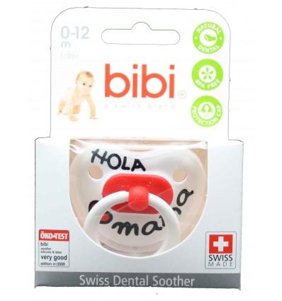 Bibi Chupete Latex Hola Mama 0-12 meses