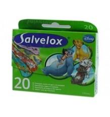 Tiritas Salvelox Disney 20 unidades