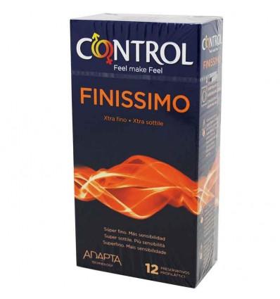 Preservativos Control Finissimo 12 unidades