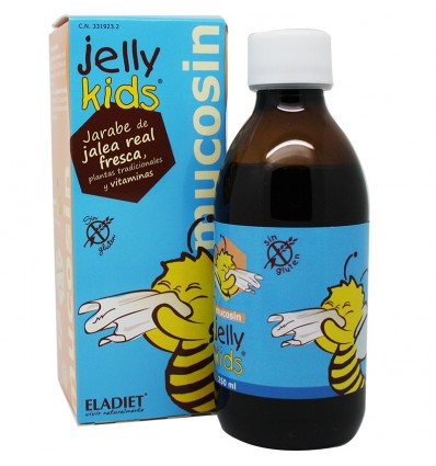 Jelly Kids Mucosin 250 ml Eladiet
