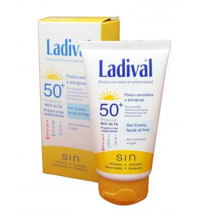 ladival pieles sensibles gel crema 50