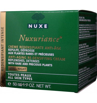 Nuxe Nuxuriance Nuit crema redensificante 50 ml