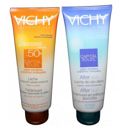 Vichy Capital soleil leche 50+ 300 ml
