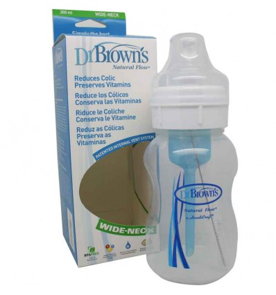 biberon dr browns 300 ml boca ancha