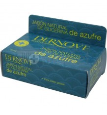 Dernove Jabon Natural de Glicerina De Azufre 100 g