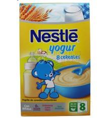 Nestle Cereales Papilla 8 cereales con yogur 600 g