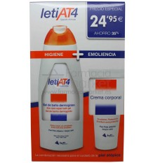 Leti At-4 Crema Corporal Gel de Baño Promocion