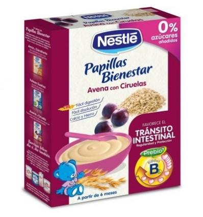 Nestle Cereales Papilla Avena con ciruelas 250 g