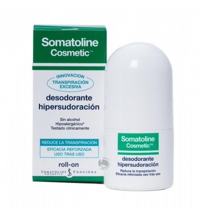 Somatoline Desodorante Hipersudoración Roll-on 30ml