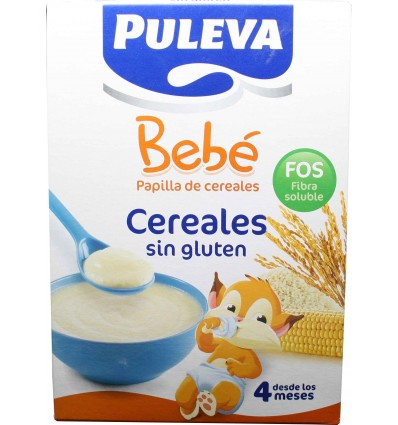Puleva bebe cereales Sin gluten 600g