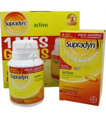 Supradyn Activo Pack Ahorro 120 comprimidos