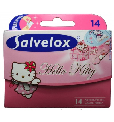 Tiritas Salvelox Hello kitty 14 unidades