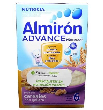 Almiron Advance Cereales Papilla con galleta 500 g