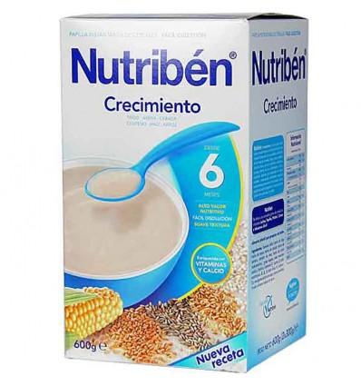 Nutriben Cereales Papilla Crecimiento 600 gramos