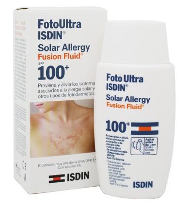 Fotoultra Isdin 100 Ultra Solar Allergy Fusion Fluid 50 ml Oferta