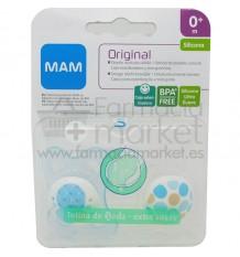 Mam Baby Chupete Original Silicona 0-6 meses