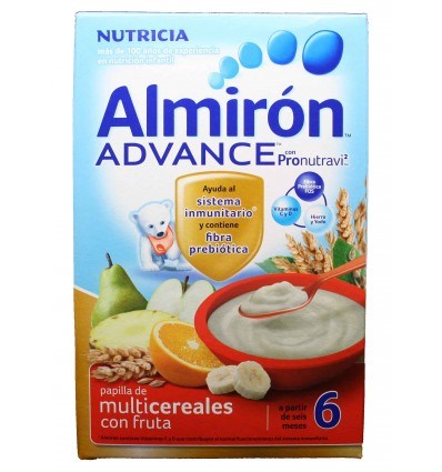 Almiron Advance Cereales Papilla Multicereales con fruta 500 g
