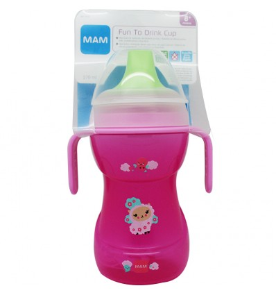 Mam Baby Biberon learn to drink 270 ml Rosa