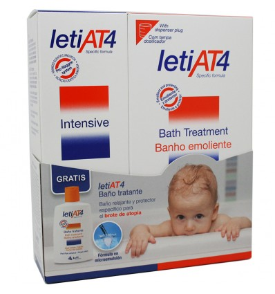 Leti At-4 Intensive crema 100 ml pack promocion