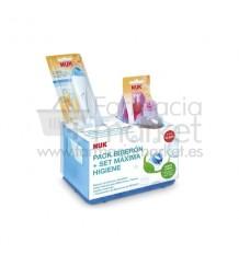 Nuk Pack Biberon Set maxima higiene