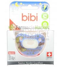 Bibi Chupete Silicona Noche Azul 6-12 meses