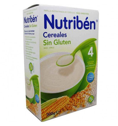 Nutriben Cereales Papilla Sin Gluten 300 g