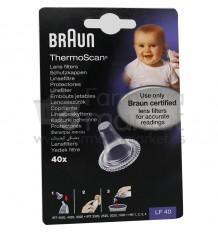 Braun Recambios Thermoscan 40 unidades