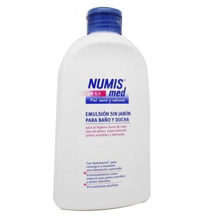 Numismed emulsión Sin jabón baño ducha 500 ml