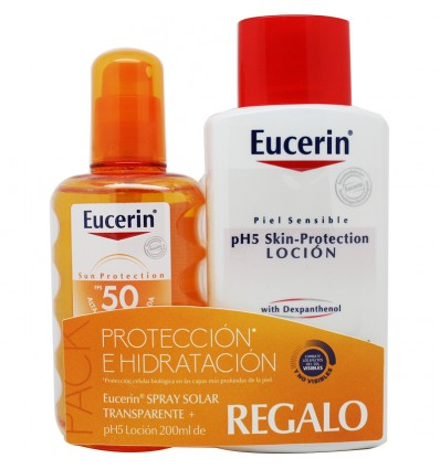 Eucerin Solar 50 Spray transparente 200 ml