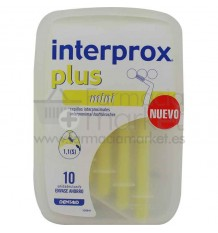 Interprox Plus Cepillo Interproximal Mini 10 unidades