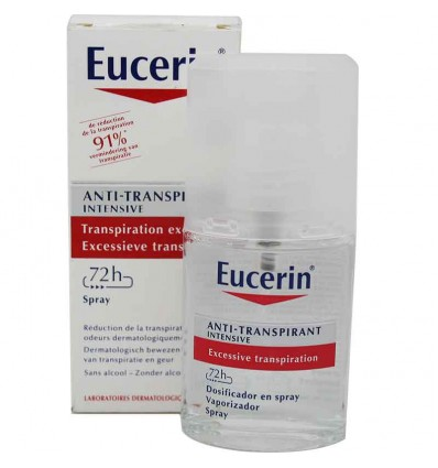 Eucerin Desodorante Antitranspirante Spray 72 horas