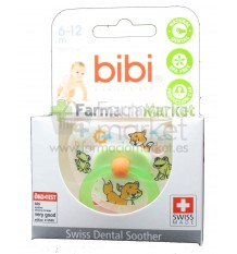Bibi Chupete Silicona Verde 6-12 meses