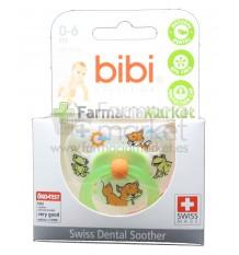 Bibi Chupete Silicona Verde 0-6 meses