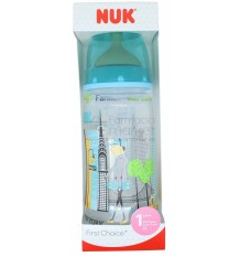 Nuk Biberon Latex Travel 1M Niño 300ml