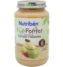 Nutriben Eco Potito Platano Manzana 250g