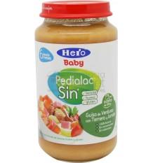 Pedialac Sin Potito Guiso de verduras con ternera y jamon 250g