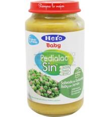 Pedialac Sin Potito Salteado de guisantes baby con jamon 250g