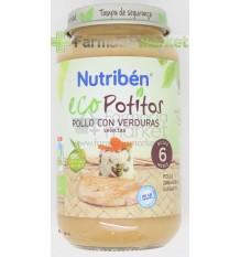 Nutriben Eco Potito Pollo Verduras 130g
