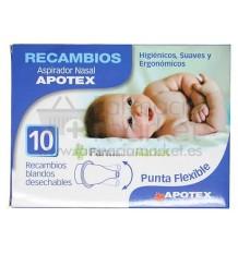 Apotex Recambios Aspirador Nasal 10 unidades