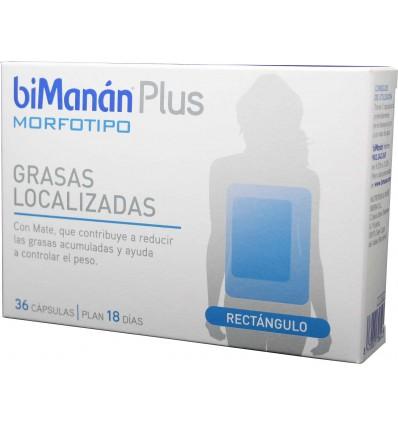 Bimanan Plus Morfotipo Rectangulo 36 capsulas
