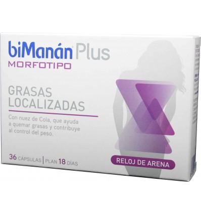 Bimanan Plus Morfotipo Reloj de arena 36 capsulas