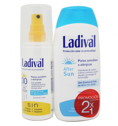 Ladival Spray Solar 30 After Sun Regalo