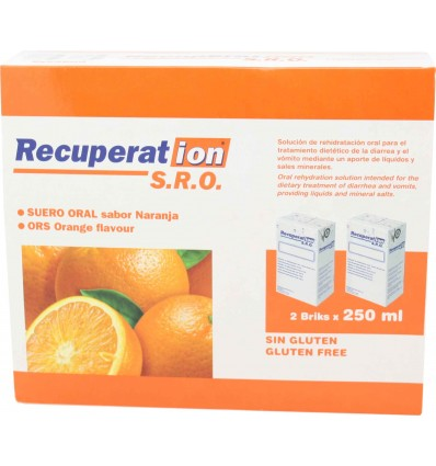 Recuperation Sro Naranja 2x250ml