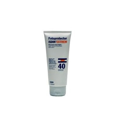 Fotoprotector Isdin 40 Gel crema Tacto ligero 200 ml