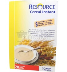 Resource Cereales instant 8 cereales Miel 600 g