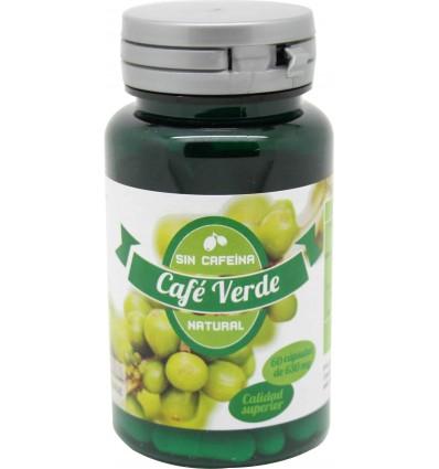 Dernove Cafe Verde Sin cafeina 60 capsulas