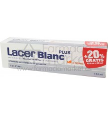 Lacer Blanc Plus Pasta Dental Blanqueadora Citrus 125 ml