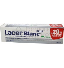 Lacer Blanc Plus Pasta dental blanqueadora Menta 125 ml