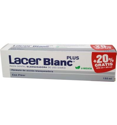 Lacer Blanc Plus Pasta dental blanqueadora Menta 125 ml